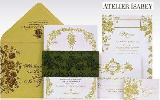 Atelier Isabey Oxford Invitation