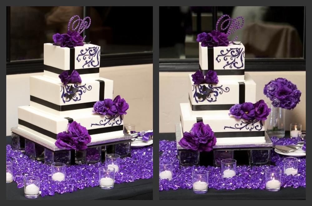 Purple Cake | Exclusively Weddings Blog | Wedding Ideas and ...