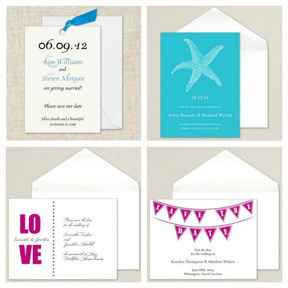 Save-the-Date Cards ... What\'s Your Style? | Exclusively Weddings