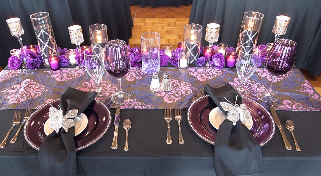Detail of Bride and Groom's Table
