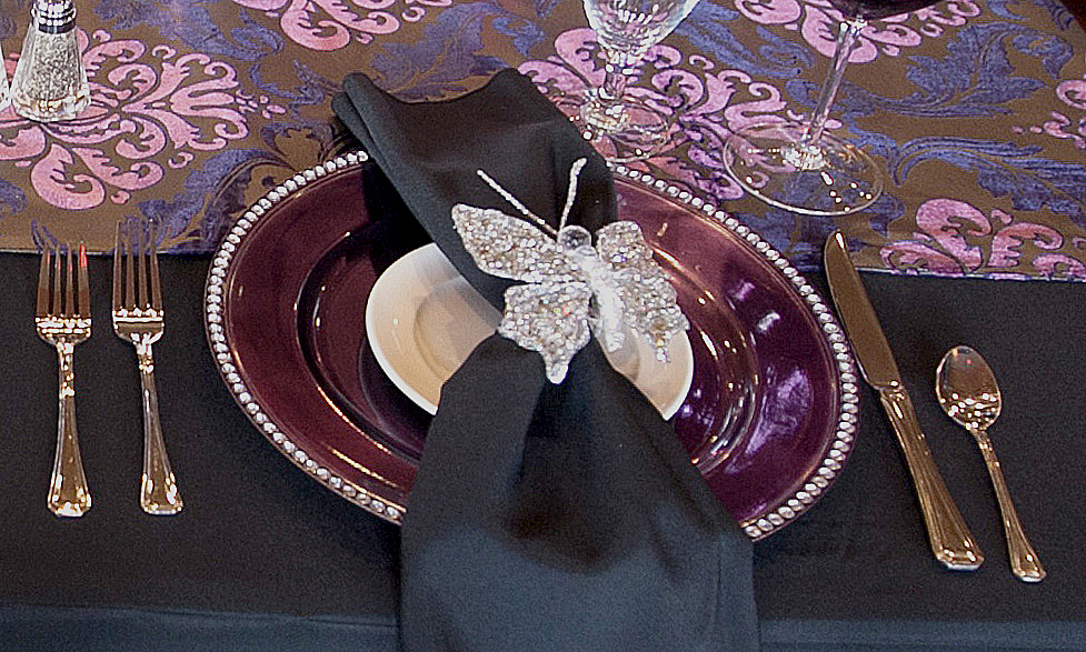 Place setting detail