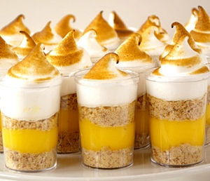 Lemon Meringue Shooters