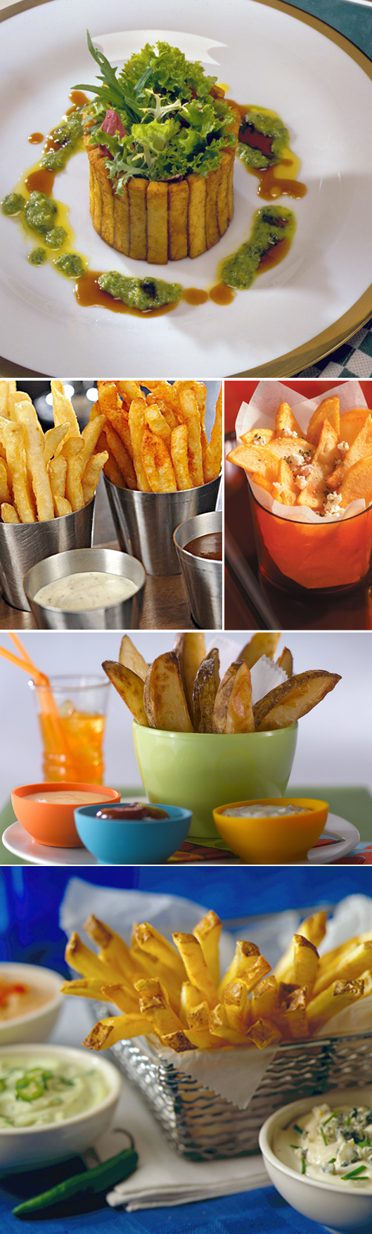 French Fries Can Be Elegant or Casual
