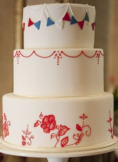 Red-white-and-blue-wedding-cake