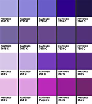 Pantone Purples