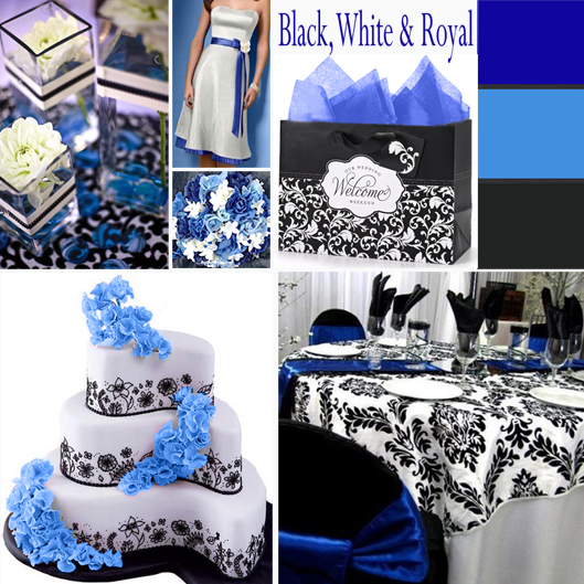 Royal Blue And Black Wedding Ideas: Your Color Story – Choosing Your Wedding Colors