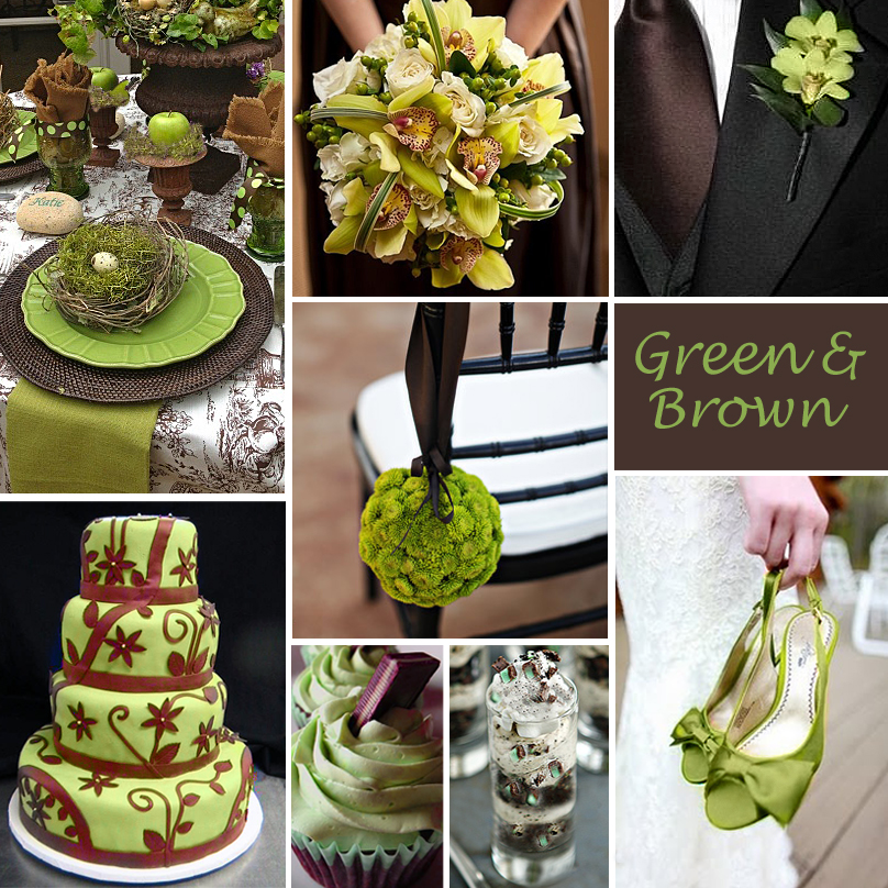 Click to Enlarge – Green and Brown | Exclusively Weddings Blog ...