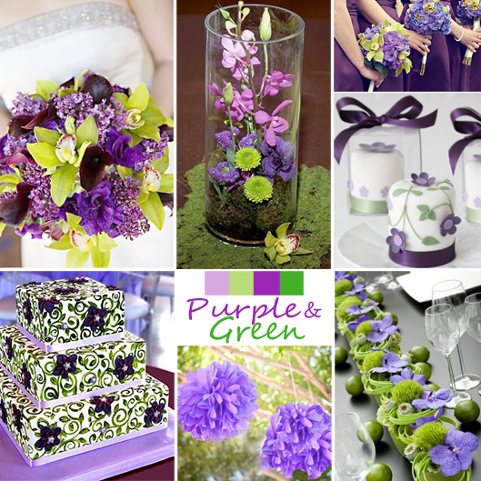 Purple And Green Wedding Ideas: Help Me Come Up With A Color Scheme… Purples