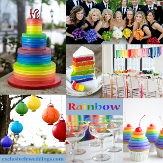 Rainbow-Wedding-Colors
