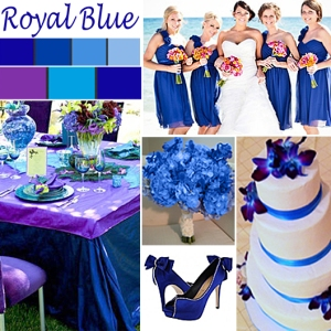 Click to Enlarge - Royal Blue Color Story