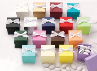 Two-Piece Wedding Favor Box