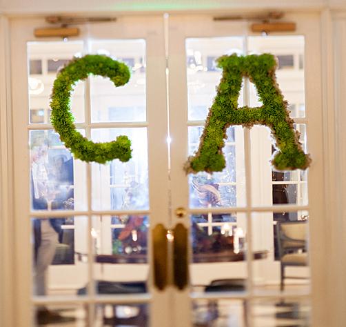 Andrea and Chris' Wedding - Door Wreaths