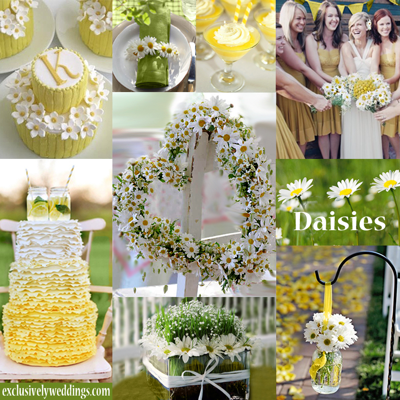 Yellow Wedding Flowers Ideas: Yellow Wedding Color – Combination Options