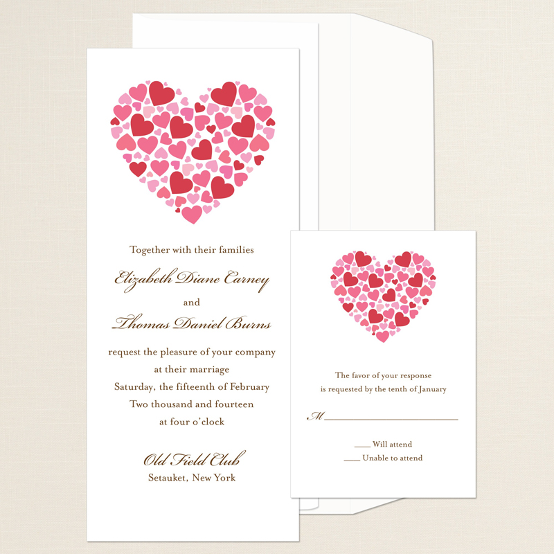 Heart Wedding Invitations absolutely amazing ideas for your invitation example