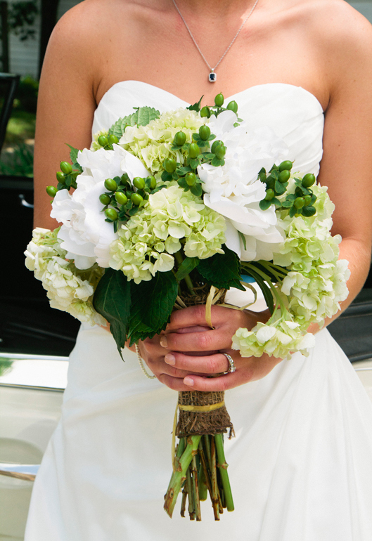 Taylor and Andrew's Rustic Wedding - Taylor's Bouquet