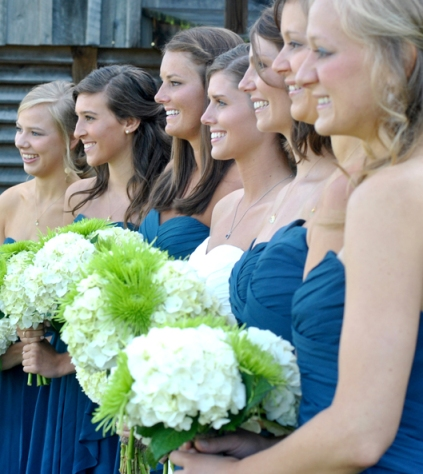 Taylor and Andrew's Rustic Wedding - Bridemaids