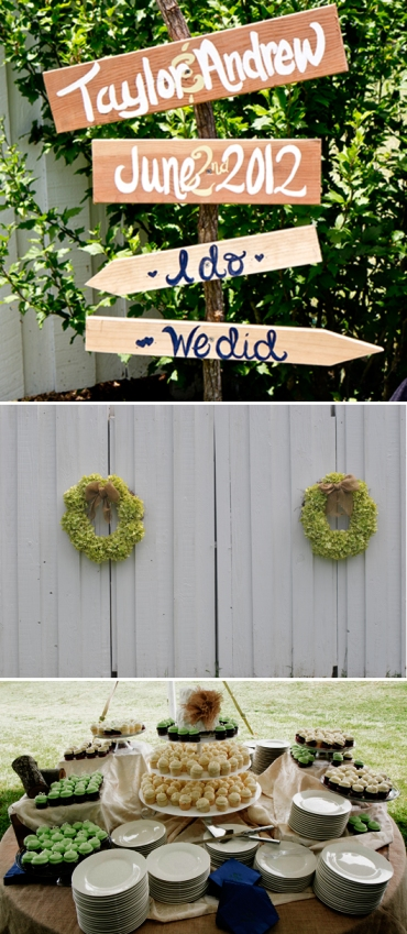 Taylor and Andrew's Rustic Wedding - DIY Details