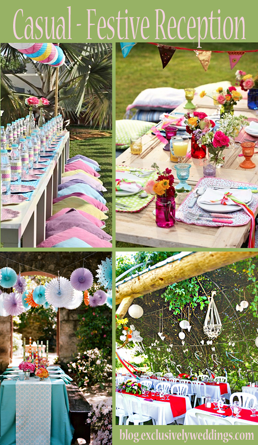 Your Outdoor Wedding Reception – What\'s Your Style?   Exclusively ...