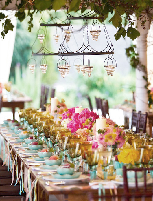Casual Backyard Wedding Decoration Ideas : Your Outdoor Wedding Reception ? What?s Your Style?  Exclusively