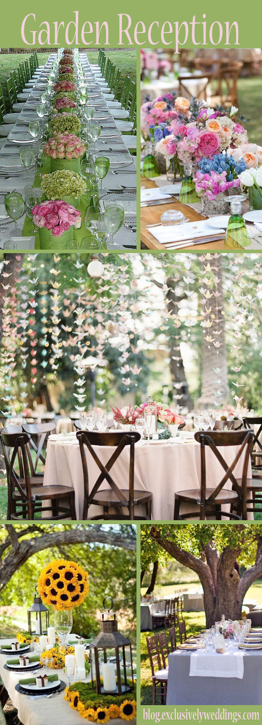 Garden Wedding Reception Images Garden wedding reception ideas