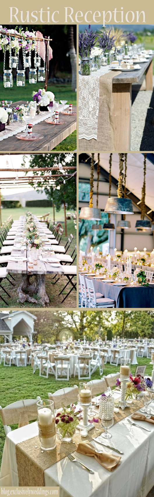 Your Outdoor Wedding Reception Whats Your Style