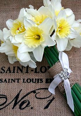 Daffodil Wedding Bouquet