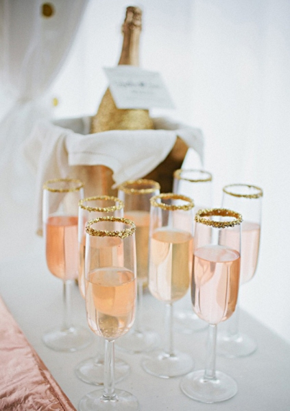 Signatuare Wedding Cocktail - Pink Champagne