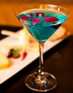 Signature Wedding Cocktail - Blue Wave