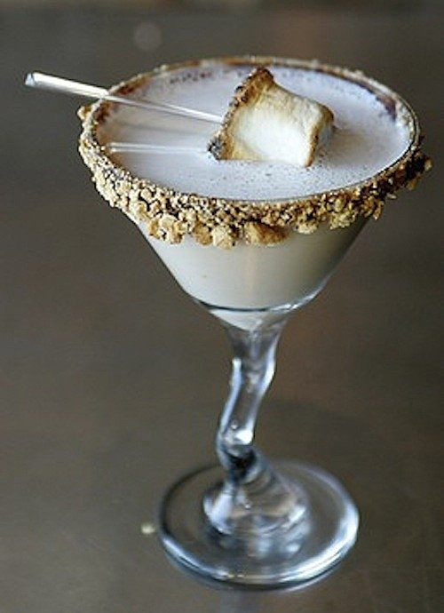 Signature Wedding Cocktail - S'Mores Martini