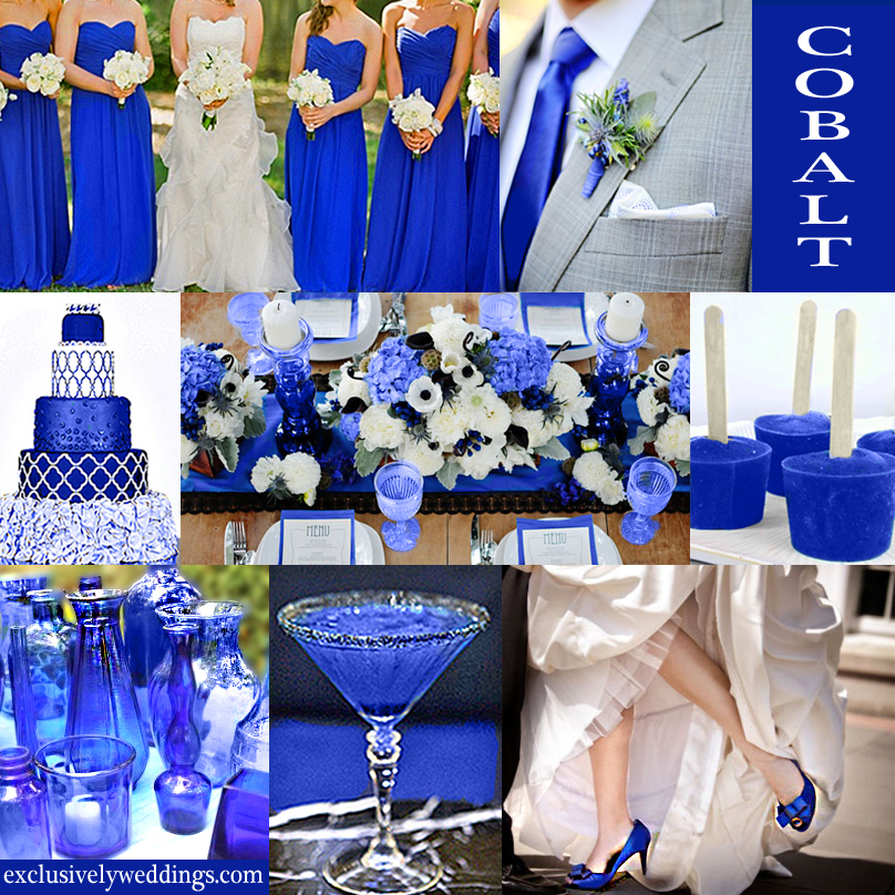 Blue Wedding Color - Five Perfect Combinations | Exclusively Weddings