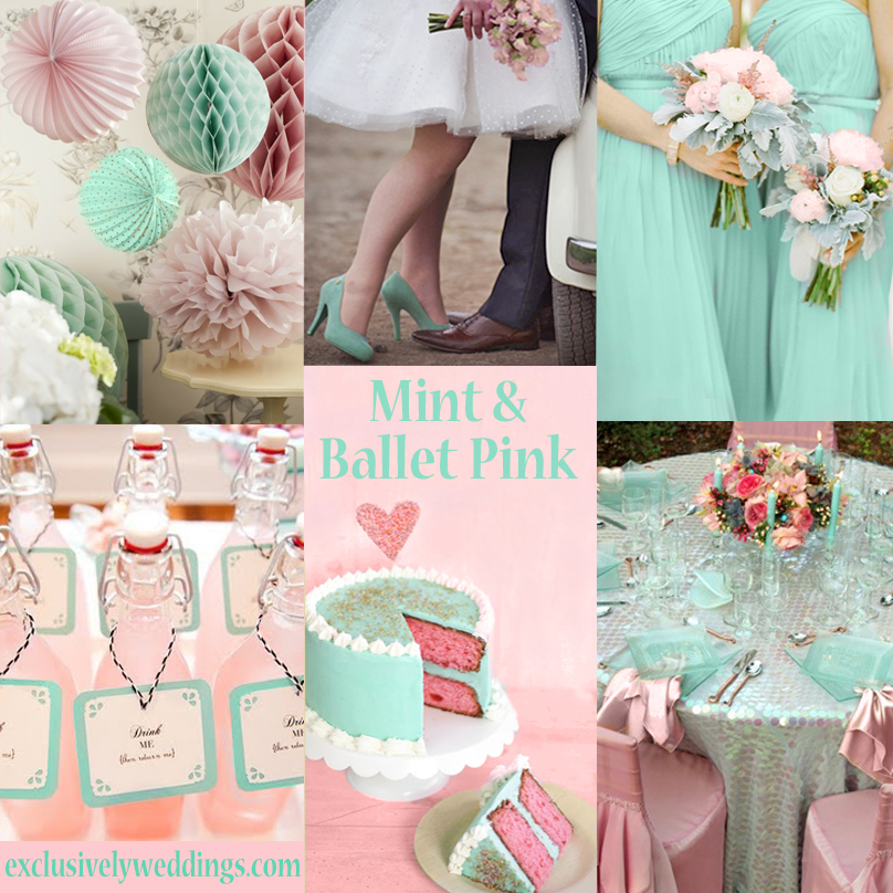 Pink Wedding Color - Twelve Perfect Combinations | Exclusively Weddings