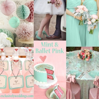 Mint and Green Wedding