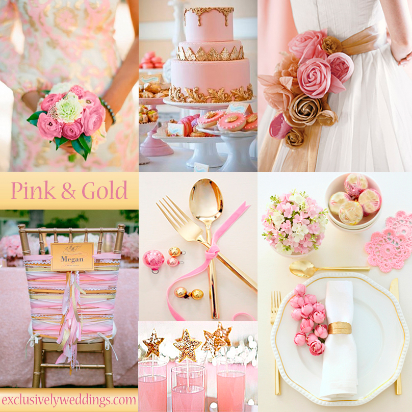Pastel wedding colors seven dreamy combinations for Best wedding color combinations