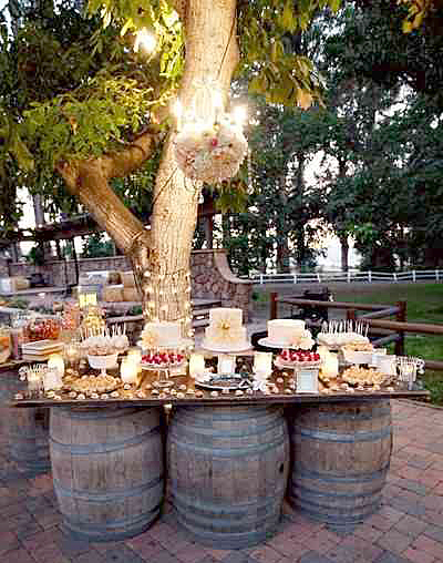 How To Create the Perfect Wedding Reception Dessert Bar ...