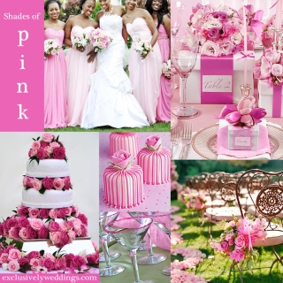 Shades of Pink Wedding