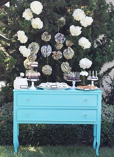 Wedding-Dessert-Bar-on-Painted-Cabinet