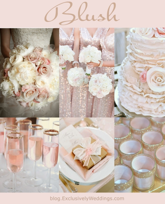 Blush Wedding Color