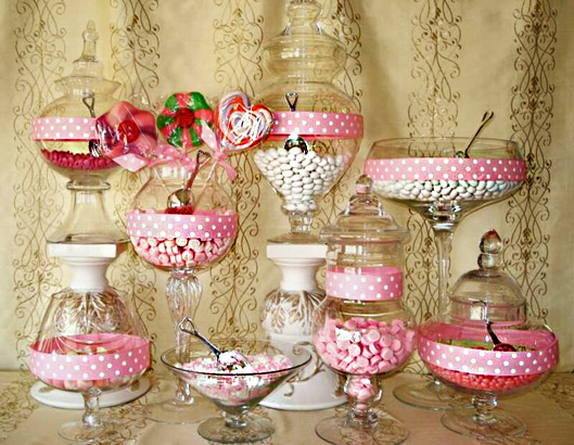 Top 10 tips for the perfect candy buffet for your wedding for Candy bar for weddings receptions