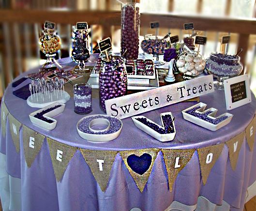 Candy Buffet For Wedding 5