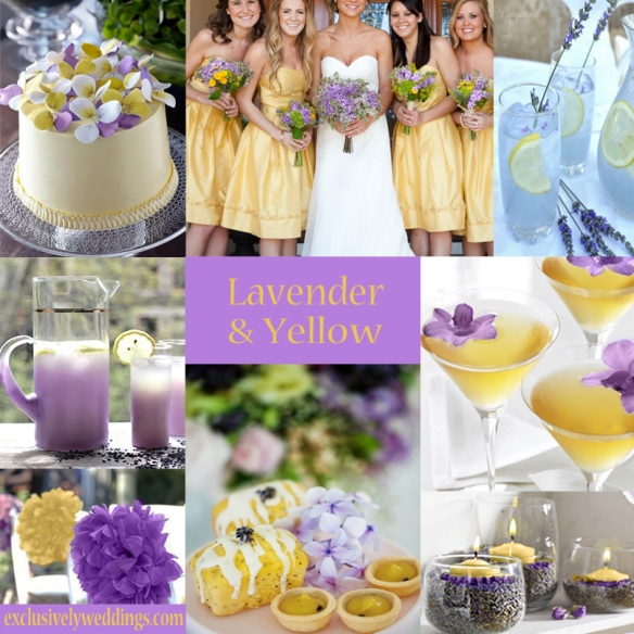 Lavender-and-Yellow-Wedding