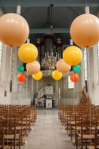 balloons for ceremony decor