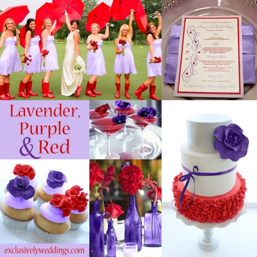 Lavender-Purple-Red-Wedding-Colors