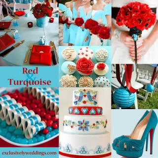 Red-and-Turquoise-Wedding-Colors