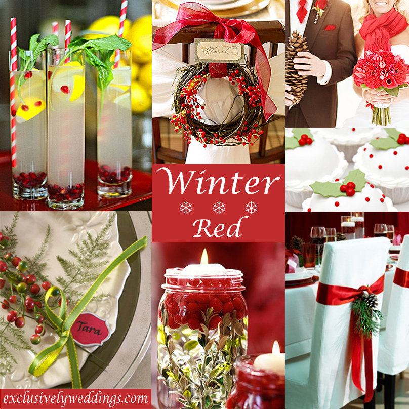 Red Wedding Color Seven Vibrant Combinations Exclusively
