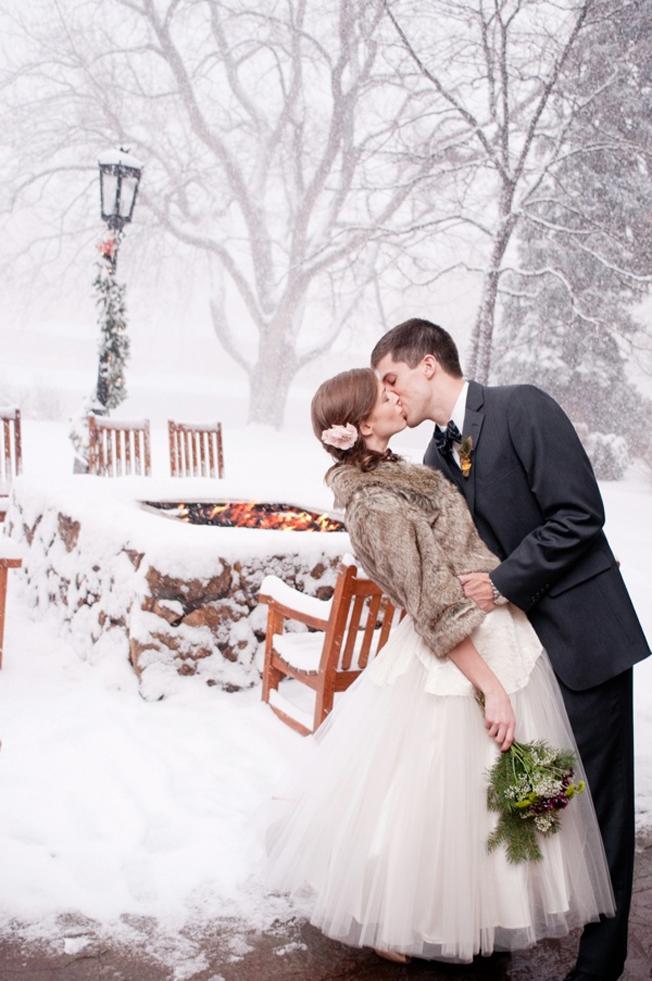 Wedding Attire Rain
