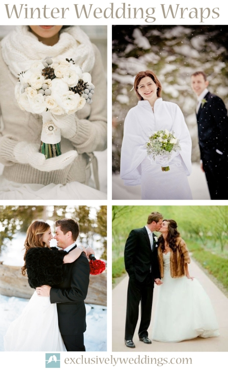 Winter Wedding Wraps
