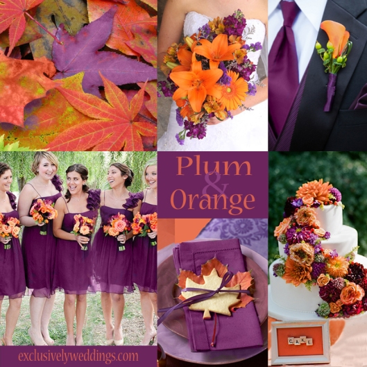 plum wedding color four fantastic choices exclusively weddings blog wedding planning tips. Black Bedroom Furniture Sets. Home Design Ideas
