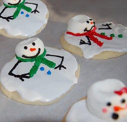 Melting-Snowman-Cookies