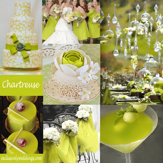 Chartreuse Wedding Color