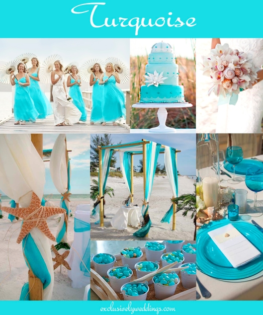 Turquoise Fuchsia Wedding: How To Choose Between Teal, Turquoise